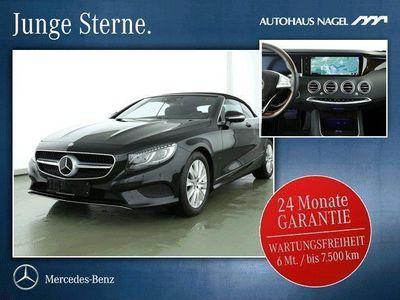 gebraucht Mercedes S500 CABRIO 360´*Nacht*Burmester*TV*AIRCAP*LED