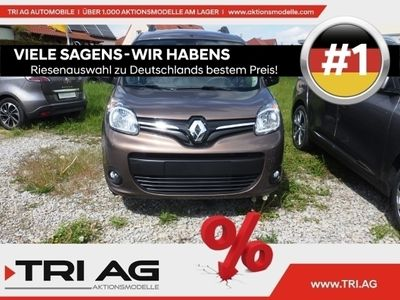 gebraucht Renault Kangoo LIMITED dCi 95 Deluxe Paket Klimaautom Temp PDC RDC CD AUX USB MP3 ESP MAL