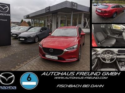 gebraucht Mazda 6 SKY-D 150 AT EXCLUSIVE KAMERA MRCC