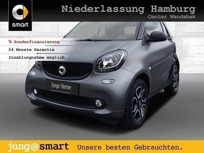 used Smart ForTwo Cabrio 66kW passion cool&Audio SHZ PDC