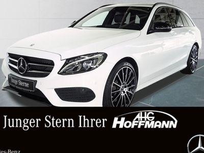gebraucht Mercedes C400 4M T AMG+Night+AHK+LED+Navi+PDC+Kamera+SHZ