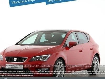 gebraucht Seat Leon FR 2.0 LED SCHEINWERFER NAVI PANO PDC KLIMA - Klima,Schiebedach,Alu,Servo,