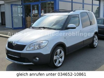 gebraucht Skoda Roomster Scout 1.6 TDI DPF Panoramadach PDC