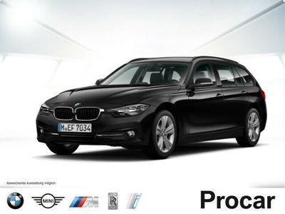 gebraucht BMW 320 d Touring Sport Line Aut. Navi Leder PDC Shz