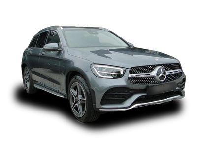 gebraucht Mercedes 200 GLC 200 GLC4M AMGline LED elHeckkl MBUX