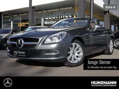 gebraucht Mercedes SLK250 d Xenon Panorama-Variodach PDC KeylessGO