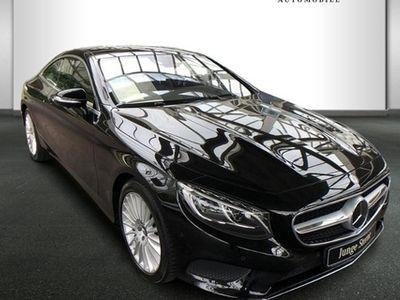 gebraucht Mercedes S500 4MATIC Coupé Sitzklima/Burmester/Comand