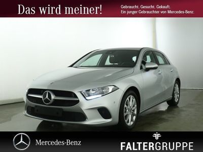 gebraucht Mercedes A200 Progressive PremNav L&S MBUX SpiegelPk PTS