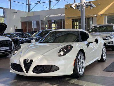 gebraucht Alfa Romeo 4C Sportpaket LED Carbon Bianco Sportauspuff PDC