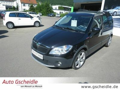 gebraucht Skoda Roomster Scout Plus Edition 1,2 TSI