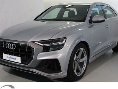 gebraucht Audi Q8 50 TDI,Standheizung/-lüftung,S line Exterieurpaket,Anhängevorrichtung
