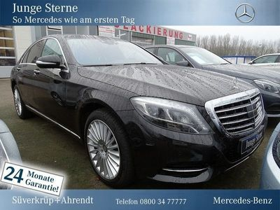 gebraucht Mercedes S350 d 4M Comand/LED ILS/Parkass./Kamera/HeadUp