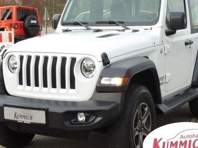 gebraucht Jeep Wrangler JL Sport 2.2l CRDi 200PS 4x4 8Gang Auto