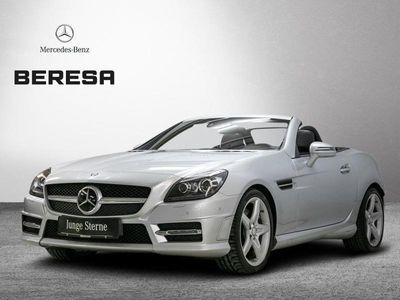 gebraucht Mercedes SLK250 AMG Carbon Distronic ILS Harman Comand