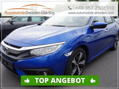gebraucht Honda Civic 1.6I-DTEC Executive*9 Gang*Leder*Spurassist