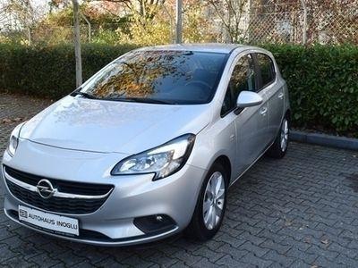 gebraucht Opel Corsa E 1.4 IntelliLink R 4.0 Alu16 Sichtp. Temp. NSW BT BC