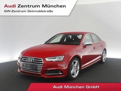 gebraucht Audi S4 3.0 TFSI qu. Virtual HUD LED S-Sportsitze Leder Assistenz Parkassistent tiptronic