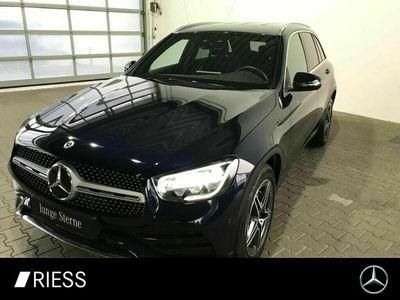gebraucht Mercedes GLC220 d 4MATIC AMG+Distronic+Spur-P.+LED+AHK