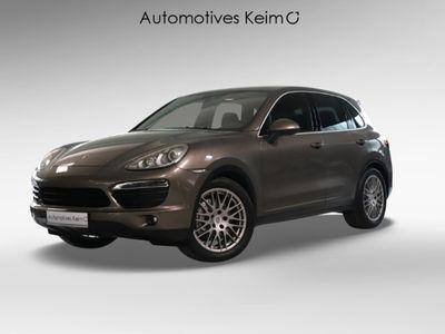 gebraucht Porsche Cayenne S LUFT PCM KAMERA 21ZOLL SH V&H MEMORY