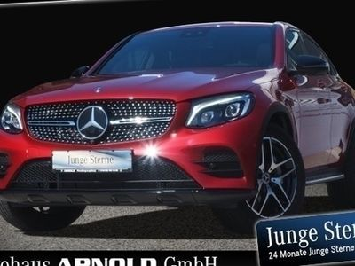 gebraucht Mercedes GLC350 d 4M Coupe AMG Line Night Schiebed Distr SHD/LED