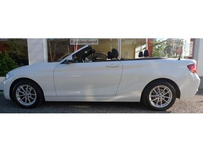 gebraucht BMW 218 i Cabrio Advantage Mod.2016 Topaustattung !