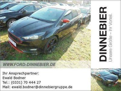 gebraucht Ford Focus Turnier Sport Schwarz 2.0 TDCi Navi Klima als Kombi in Potsdam