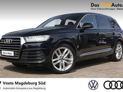 gebraucht Audi Q7 3.0TDI S-Line Allradlenk. Luftfed. AHK Navi LED