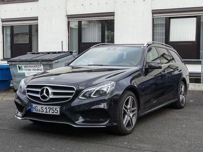 gebraucht Mercedes E250 BlueTEC 4MATIC T-Modell Avantgarde Park-As