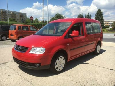gebraucht VW Caddy Maxi Life 1.6 Klima 1.Hand Insp.ZR neu