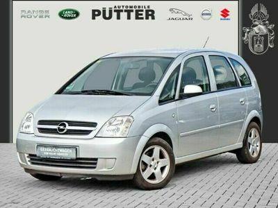 gebraucht Opel Meriva Edition 1.6 Klima AHK ESP Spieg. beheizbar Seitenairb. Radio TRC Airb ABS Servo ZV