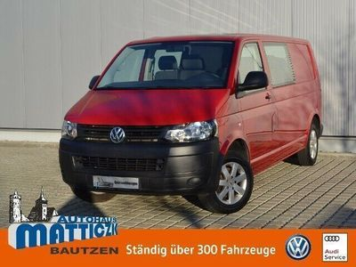 usado VW T5 Kombi 2.0 TDI LR PROFI/6-SITZER/AHK/CLIMATIC/KOMFORT-PA