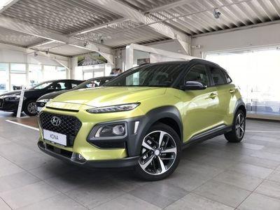 gebraucht Hyundai Kona (MJ19) 1.6 T-GDI DCT 4WD STYLE (FARBAPPL. LIME) L
