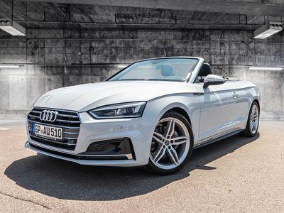 gebraucht Audi A5 Cabriolet sport 40 TDI quattro 140(190) kW(PS) S tronic Euro 6d-temp