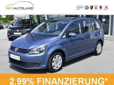 gebraucht VW Touran Trendline 1.6 TDI BMT Sitzheizung schwarz