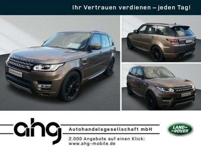 gebraucht Land Rover Range Rover Sport 3.0 TDV6 HSE Navi Xenon AHK 21 Alu