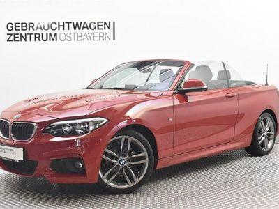 """gebraucht BMW 218 d Cabrio M Sport LMR18""""+PDC+SHZ++"""