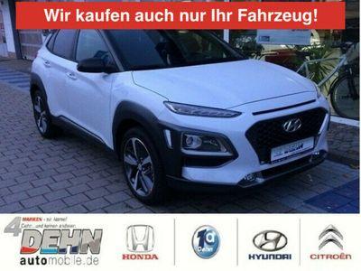 gebraucht Hyundai Kona 1.0 T-GDi Style LED-Licht-/Navi-/Assistenzp
