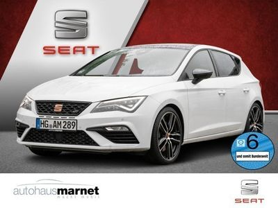 gebraucht Seat Leon Cupra 2.0 TSI 213 kW (290 PS) 7-Gang-DSG Navi, Kessy, DAB+, BeatsAudio, Panorama-Glas-Hubdach