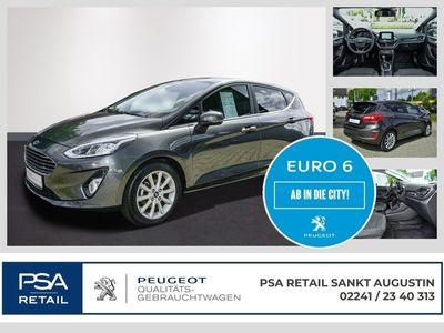 gebraucht Ford Fiesta 1.0 Titanium 5 Türer Klimaautomatik Bluetooth