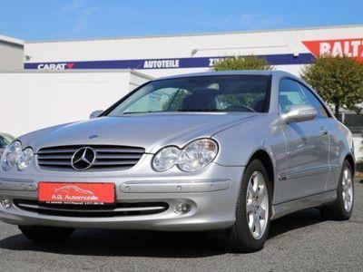 gebraucht Mercedes CLK200 Kompressor Aut. Elegance *Navi*Schiebed*