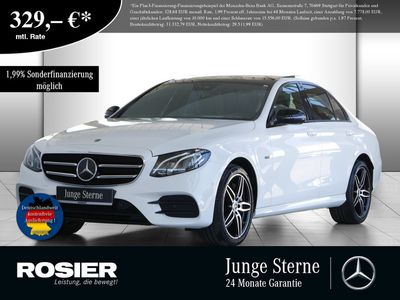 gebraucht Mercedes E350 EAMG Line Night Distronic+ Pano 360° Coma