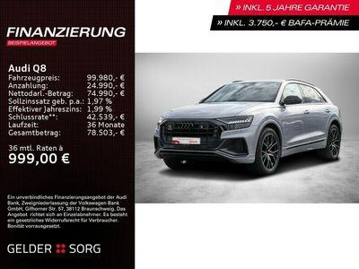 gebraucht Audi Q8 55 TFSI e qu. S line*AHK*B&O*Matrix*HuD*Nacht