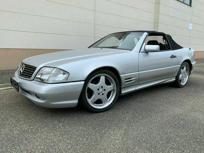 gebraucht Mercedes SL320 R129- LEDER - AMG-Paket als Cabrio/Roadster in Viernheim