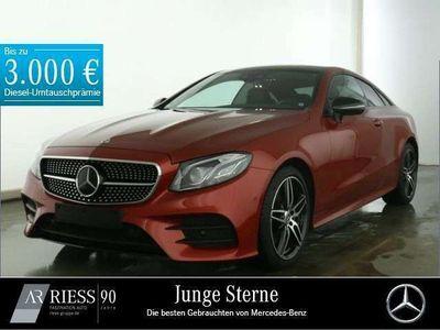 gebraucht Mercedes E220 Coupé AMG+Fahrassist.+Pano.-Dach+Night