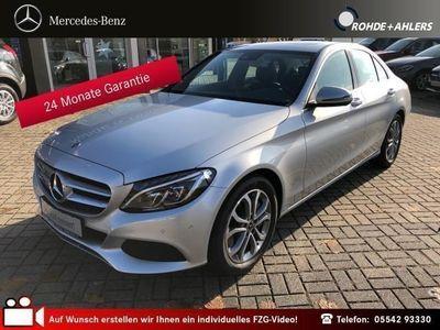 gebraucht Mercedes C400 4MATIC AIRMATIC+SCHEIBEDACH+AHK+AVANTGARDE