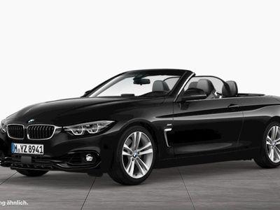 gebraucht BMW 440 i xDrive Cabrio Sport Line Leder Head-Up HiFi LED