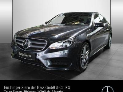 gebraucht Mercedes E350 4M AMG Airm Distro Standhzg Com 360 ILS