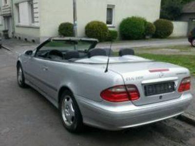 gebraucht Mercedes CLK200 kompressor klima leder Tüv