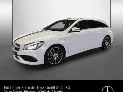 gebraucht Mercedes CLA180 Shooting Brake Edition AMG White Aut Kamera LED Lich