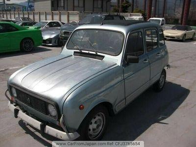 gebraucht Renault R4 die etwas Art des Fahrens